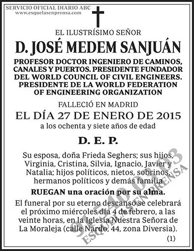 José Medem Sanjuán
